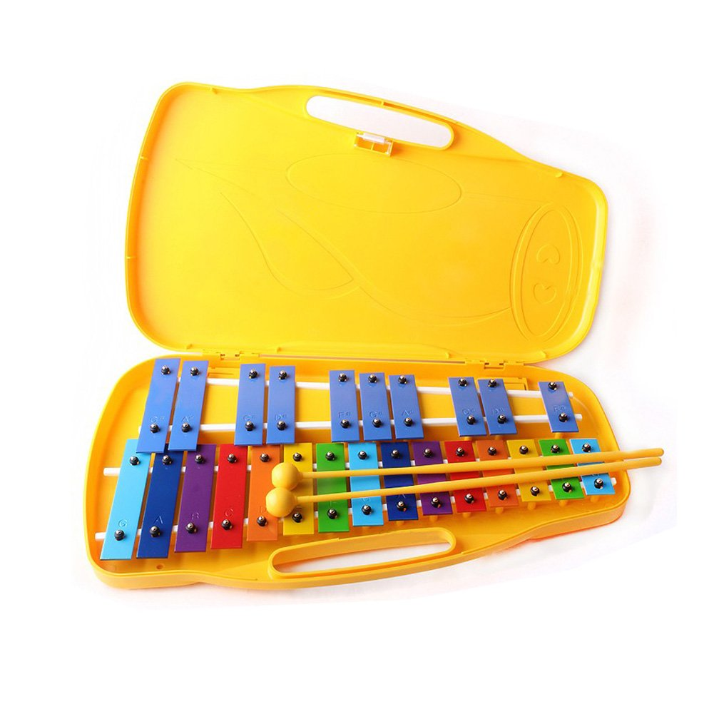 Youngchang 25keys Student Xylophone Instrument with case and sticks YX-25K by HMC Youngchang