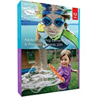 Adobe Photoshop Elements 2019 & Premiere Elements 2019 | Standard | PC/Mac | Disc