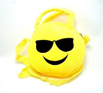 peluche EMOJI chico cool . emoji gafas de sol . bolso de ...