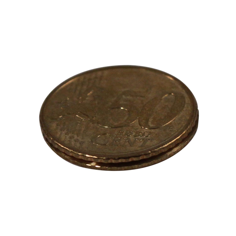 ASRアウトドアCovertエスケープコンパスEuro Coin B01H0NE3M0