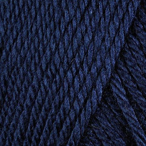 - Spinrite NOM069753 Satin Solid Yarn, Admiral