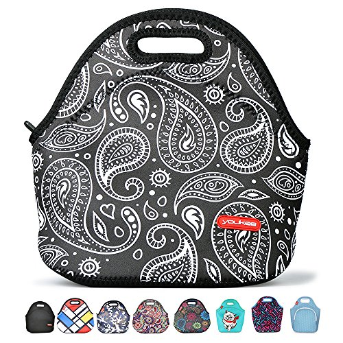 Neoprene Lunch Tote, Yookeehome Reusable Insulated Thermal Lunch Bag for Kids Adults Men Women Boys Girls Students Office Worker, - Hot Shopping Women