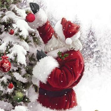 Musical christmas card santa and tree open greeting card and hear musical christmas card santa and tree open greeting card and hear 15 20 m4hsunfo