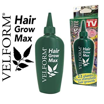 Velform Hair Grow Max - Loción crecepelo, 1 Flacon de 200 ML: Amazon.es: Hogar