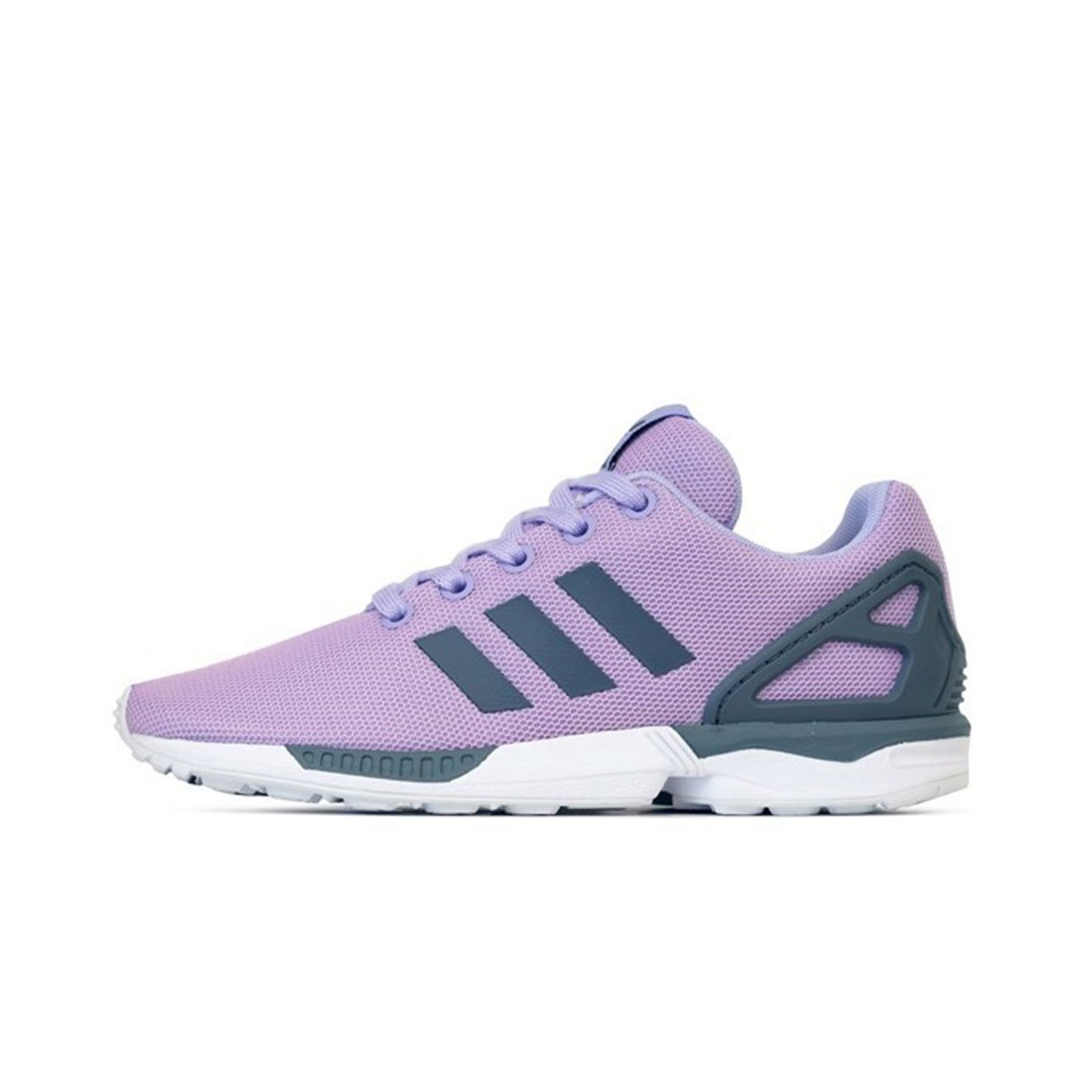 Purple//glopur//Onix//Ftwwht adidas Little Kids ZX Flux K