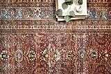 "Loloi II Layla Collection Area Rugs, 7'-6"" x 9'-6"", BRICK/BLUE"