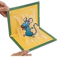 Hkiytime Piège à Souris Humain Pièges à Rat Professionnel Piège à Souris Efficace Souricière Utilisable-Efficace Tueur d'insectes Respecte l'environnement Inoffensif plaques Plastique- -20packs