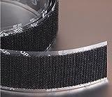 VELCRO Brand Hook 88 PSA 72 - 25 Yard Roll 3/4'' Wide, Black