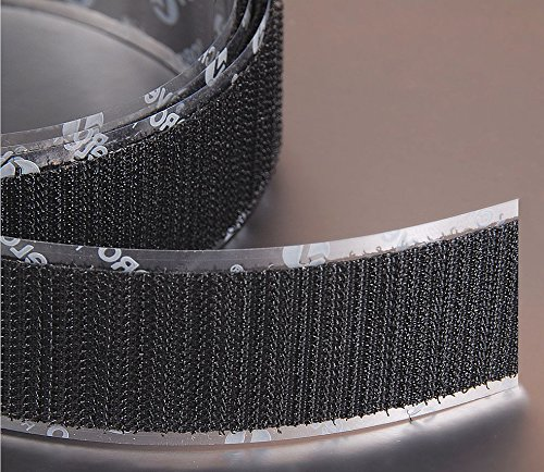 VELCRO Brand Hook 88 PSA 72 - 25 Yard Roll 3/4'' Wide, Black by VELCRO Brand