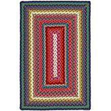 Safavieh Braided Collection BRD316A Handwoven Multicolored Area Rug (2' x 3')