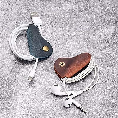 3pcs Magnetic Headphone Earphone Cord Winder Wrap Organizer Cable Tie Holder Jx