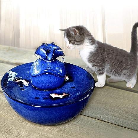 PETBYN Automatica Fuente para Gatos Recipiente de Agua de ...
