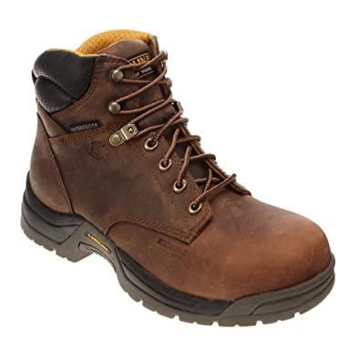 Amazon.com | Carolina Men's Waterproof Broad Toe Work Boot ...
