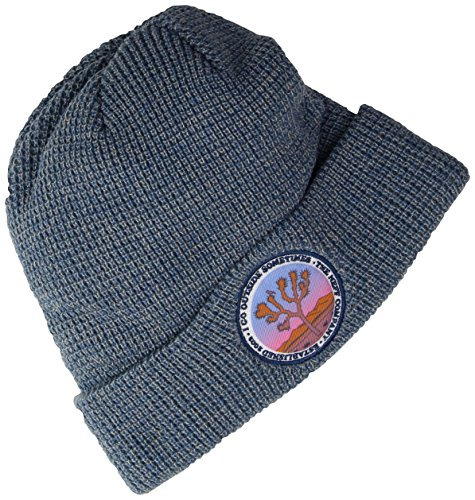 Neff Mens Ohoulihan Slouchy Knit Beanie  Blue Grey  One Size