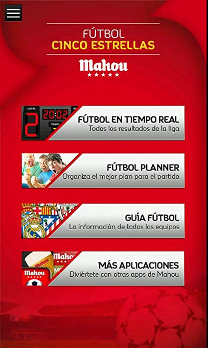 Amazon.com: Fútbol Cinco Estrellas: Appstore for Android