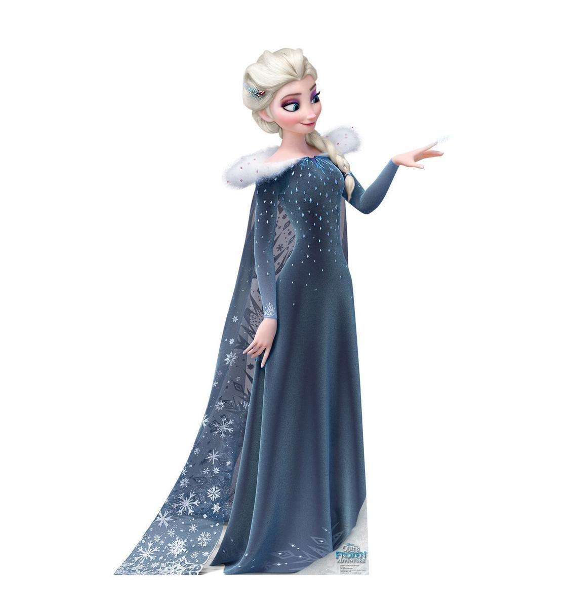 エルサ 等身大パネル アナと雪の女王 家族の思い出 グッズ インテリア 部屋 デコレーション 飾り 装飾 [並行輸入品] B076JVCRLM