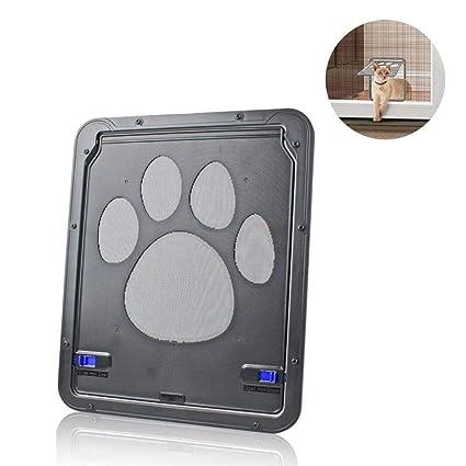 AOLVO - Puerta mosquitera para Gatos y Perros pequeños con ...