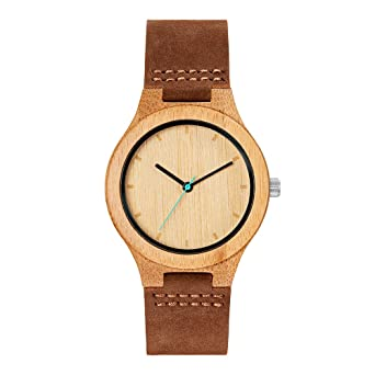 MAM Originals · Boreas Bamboo | Womens Watch | Minimalist Design | Watch Made from sustainably