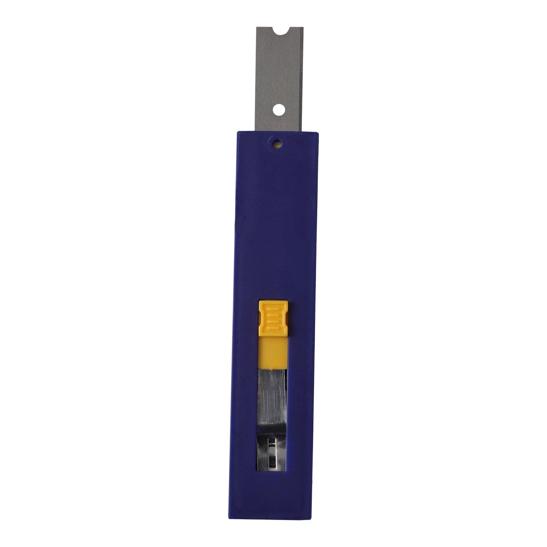 MANUFORE 4 Inch Wide Carbide Scraper Replacement Blade,15 Pack