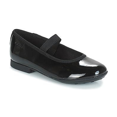 Geox Girls' Jr Plie' D Ballet Flats