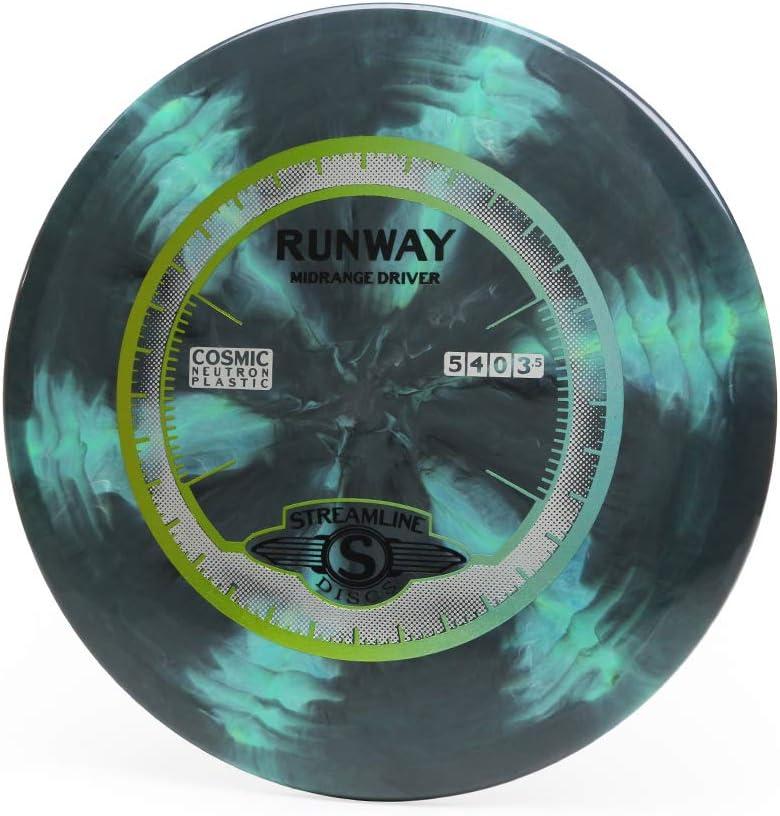 Streamline Discs Cosmic Neutron Runway Disc Golf Midrange (Colors May Vary)