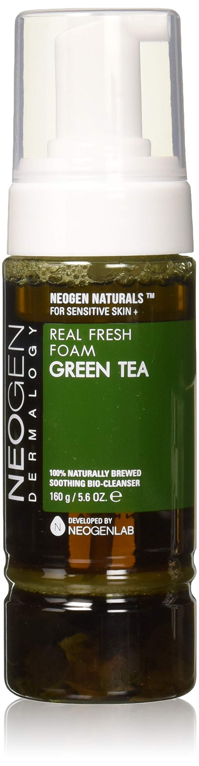 NEOGEN Dermalogy Real Fresh cleansing Foam,160g /5.6 oz (Green Tea)