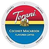Torani Coconut Macaroon Flavored Coffee, Single