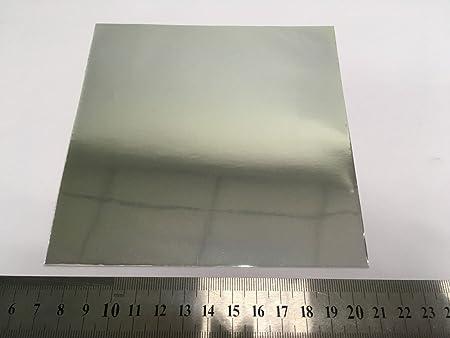 Plantilla de óxido de aluminio anódico Aao sobre al sustrato tamaño 20 x 20 mm: Amazon.es: Amazon.es