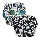 Alva Baby 2pcs Pack One Size Reuseable Washable Swim Diapers SW06-132