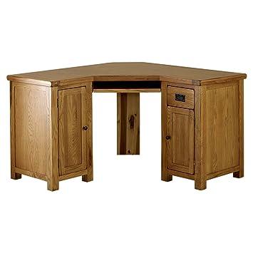 Swell The Furniture Market Rustic Oak Corner Desk Home Interior And Landscaping Transignezvosmurscom