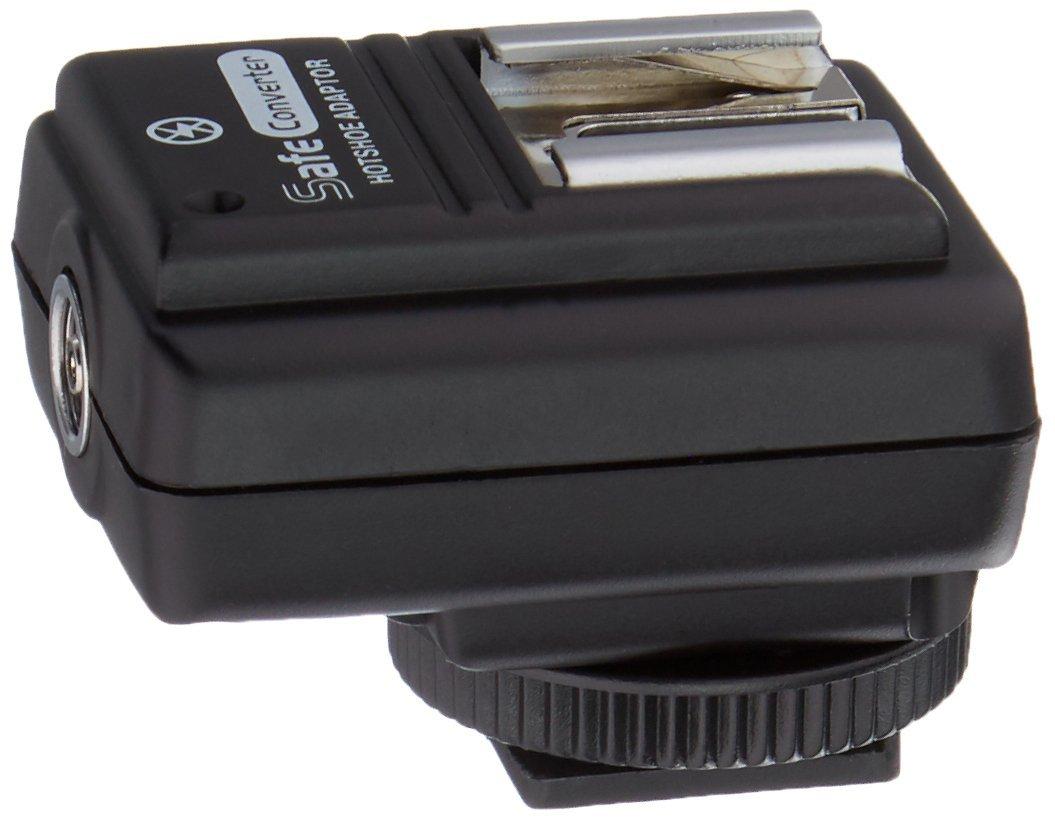 Fotodiox SMDV Hot Shoe Safe Sync Adapter SM-512 for Pentax *ist DS, DS2, D, DL, DL2, K10D, K20D, K100D, K110D, K200D, K100D Super, K-5, K-7, K-30, K-r, K-x, K-m, (K-m A.K.A. K2000), K-01, Hotshoe 10-SMDV-512-PK