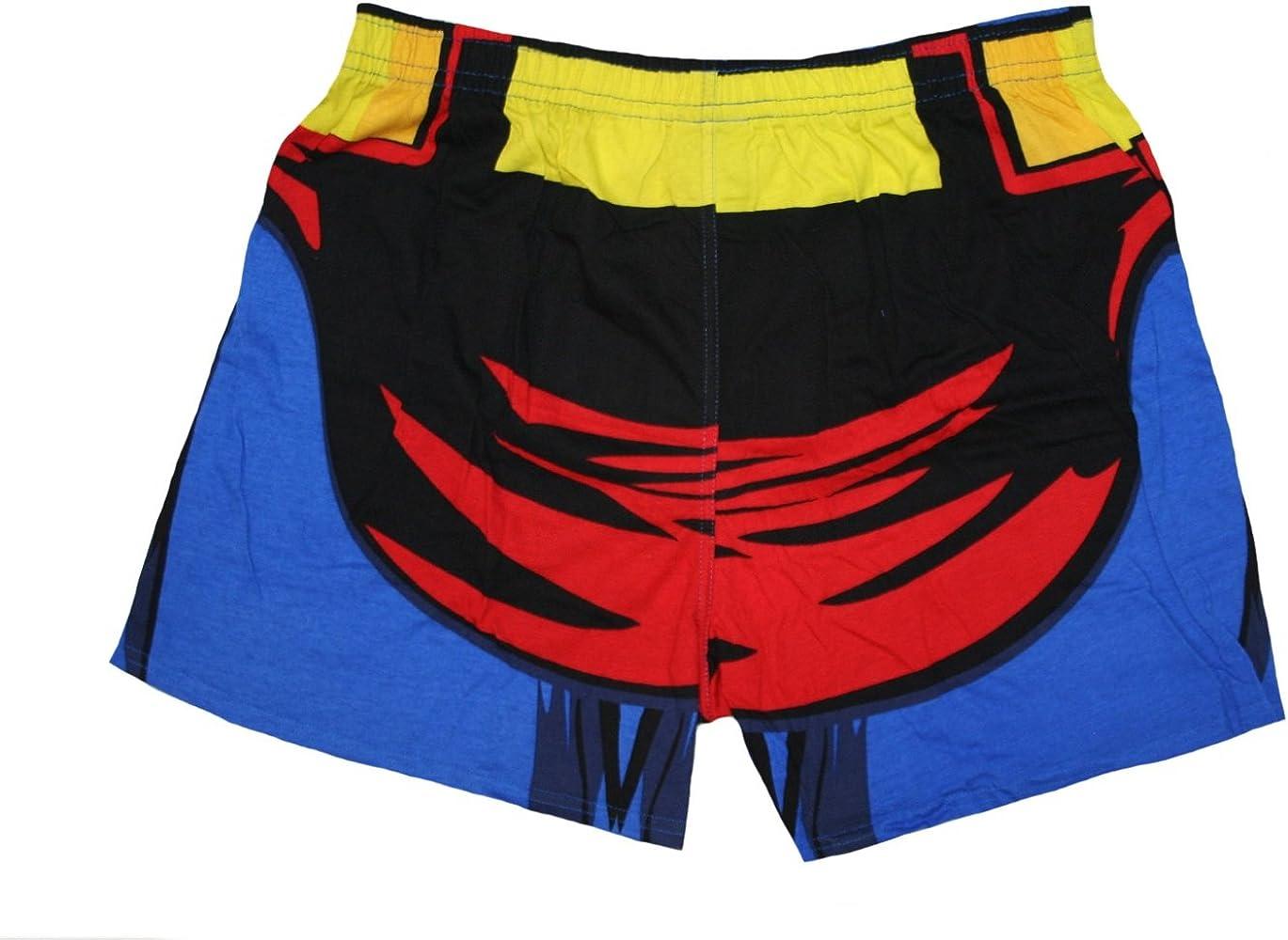 OPKSII Superman Logo Boxer Briefs Mens Underwear Pack Seamless Comfort Soft