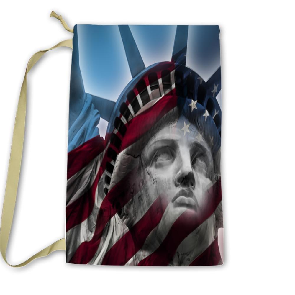 Pixsona America, Statue of Liberty Laundry Bag