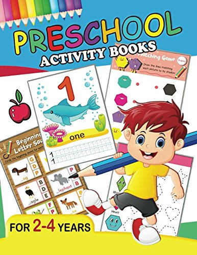 Preschool Activity Books: Fun Big Workbook for Toddler age 2