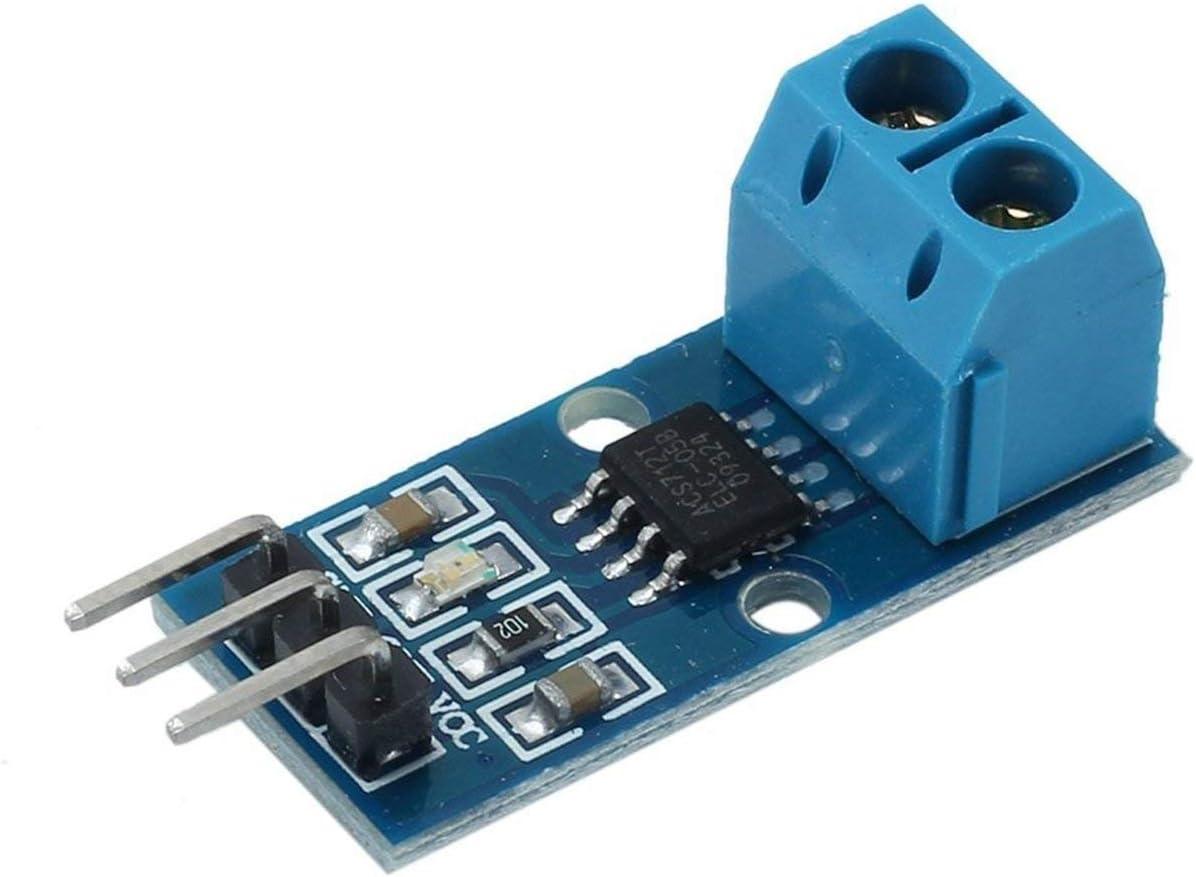 5A Range Hall Current Sensor Module ACS712 Model for Arduino