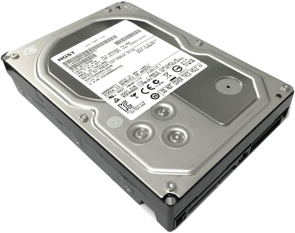 """HGST Ultrastar 7K4000 4 TB 3.5"""" 7200 RPM SATA Internal Enterprise Hard Drive 64 MB Buffer 6.0Gb/s - HUS724040ALA640/0F14688 (Renewed)"""