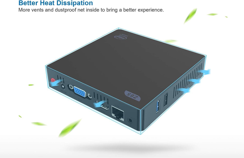 Intel Atom x5-Z8350 Processor HDMI/VGA Dual Screen Display 2.4G ...