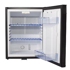 SMETA Electric 110V Mini fridge Freightliner Cascadia 12V Truck Refrigerator RV Can Cooler Camper ,36 qt