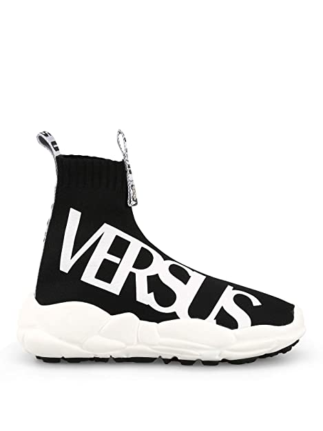 size 40 dd584 2d7e1 Versus Versace Women Sneaker a Calza con Logo Trainers ...