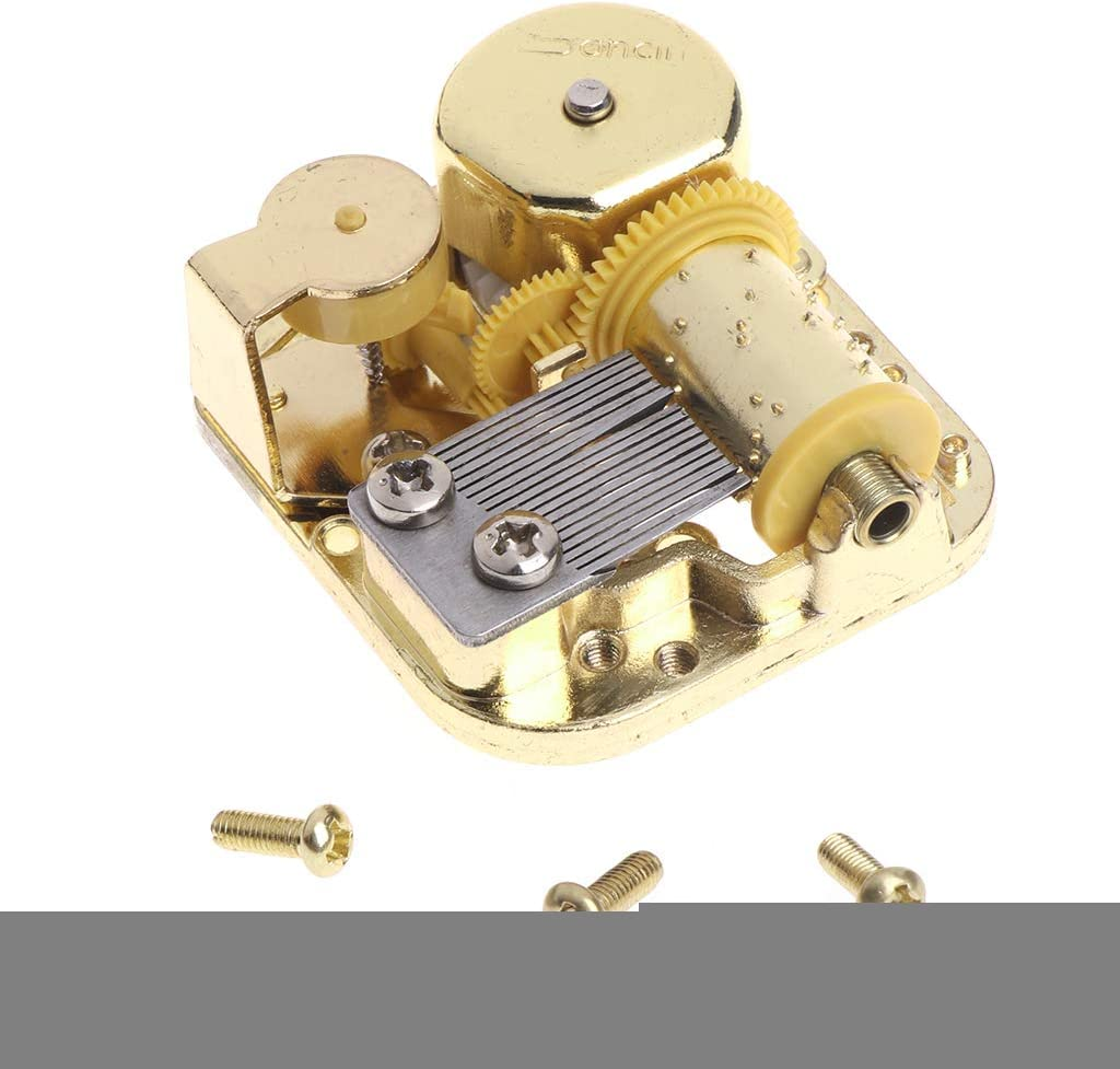 KINTRADE DIY Caja de música mecánica Movimiento de octava ...