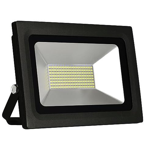 Solla® 60W LED Flood Lights Outdoor Security Lights, Waterproof IP65,  5000lm, Warm