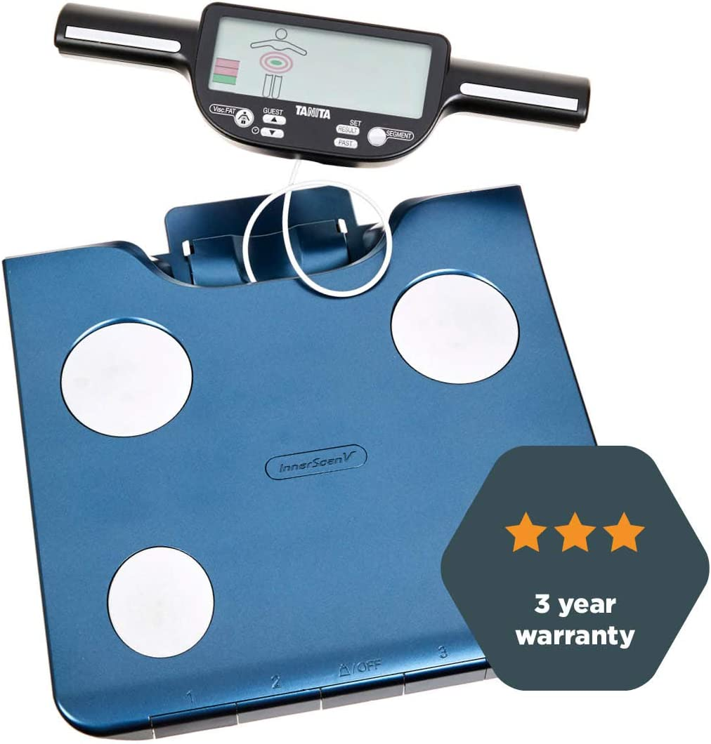 Tanita BC-602 Segmental Body Composition Monitor, Body Fat and Muscle Mass per Segment, Leader in BIA, 150Kg max, 3 yr Warranty BC602MB21 Blue: Health & Personal Care