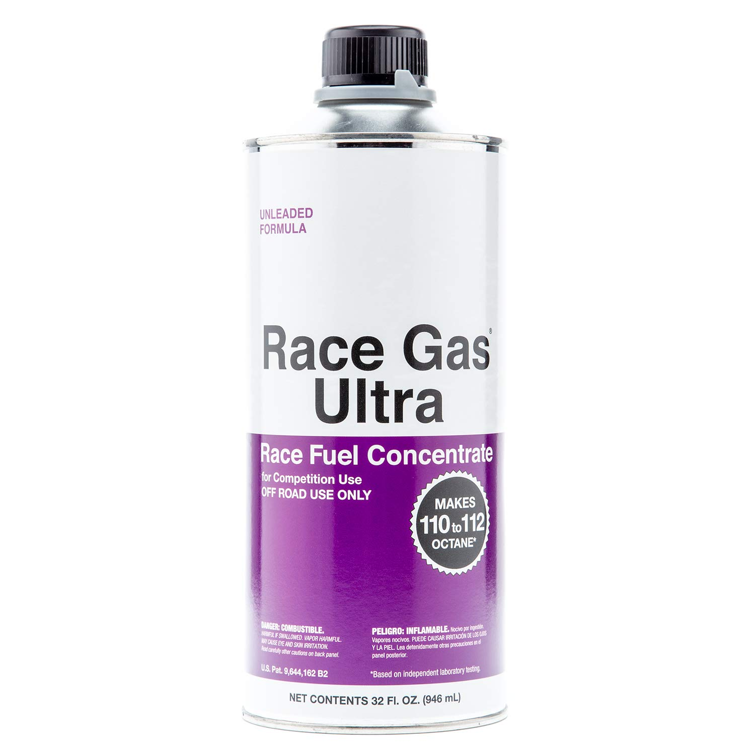 RaceGas Ultra 200032 Premium Unleaded Race Fuel Concentrate Increases Gasoline Up to 112 Octan, 6 Pack by RaceGas