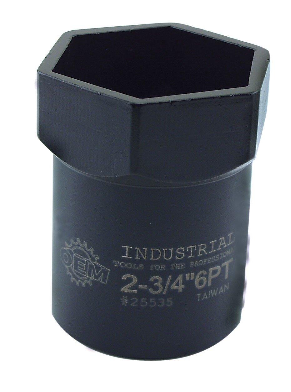 OEMTOOLS 25535 Pinion Locknut Socket (2-3/4'' X 6Pt)