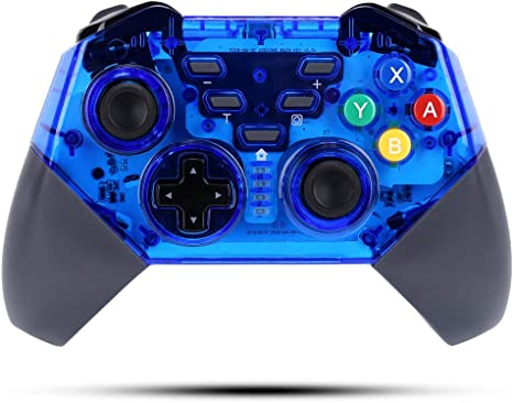 STOGA Mando Inalámbrico para Nintendo Switch, Wireless Pro Switch Controller Controlador Bluetooth Gamepad Joypad con Turbo y Dual Shock Functions para Switch: Amazon.es: Videojuegos