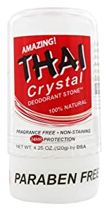 THAI Natural Crystal Deodorant Stick (4.25 Ounces)