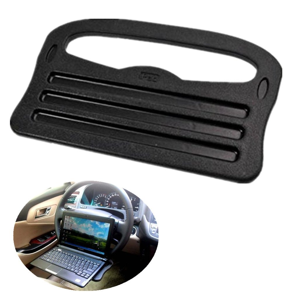 Chytaii Upgraded Portable Foldable Car Laptop/Eating Steering Wheel Desk Seat Back PC Mount