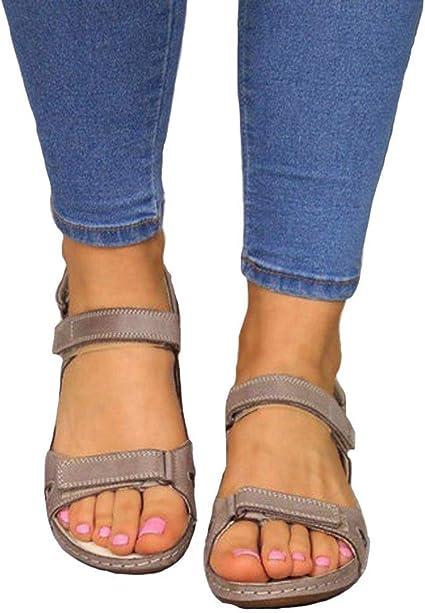 Premium Orthopedic Hook \u0026 Loop Sandal