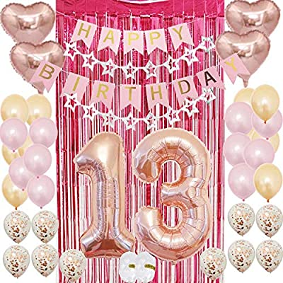 13th Birthday Party Supplies for Girls