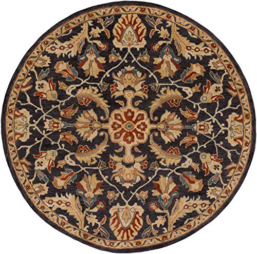 - Surya Ancient Treasures A-178 Rug - 8 ft Round